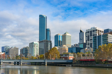 Melbourne CBD, Central Business District cityscape