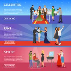 Celebrity Horizontal Banners
