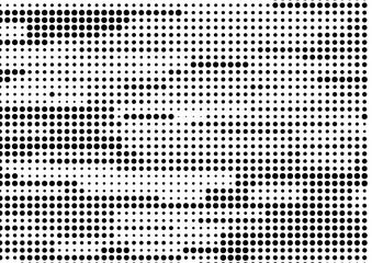 Abstract halftone pattern texture. Vector modern background for posters, sites, business cards, postcards, interior design.
