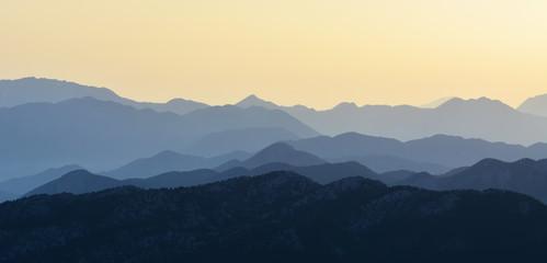 Zirveden Muhteşem  Dağ Manzaraları