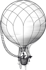 hot air ballon passenger