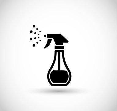 Water spray icon vector