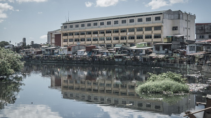 A glimpse of the Manila slums and the environment they live in