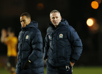 Newport County v Blackburn Rovers - FA Cup Third Round