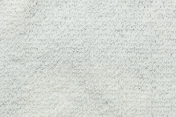 White fabric surface.