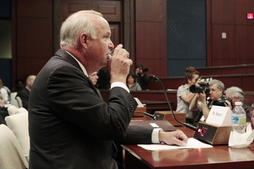 U.S. Representative Jo Bonner testifies before the Ethics Committee of the U.S. House of Representatives on Capitol Hill in Washington