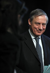 Bank of France Governor Noyer speaks at the New York Stock Exchange