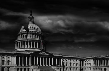 Washington DC capitol crack