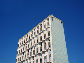 schema geometrico facciata palazzo