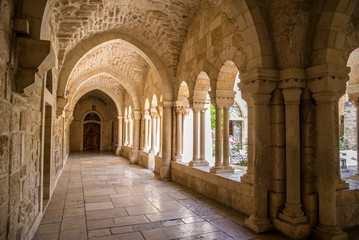 The Church of the Nativity is a basilica located in Bethlehem