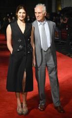 Gemma Arterton and Terence Stamp arrive for the UK premiere of 'Song for Marion' in London