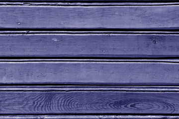 Blue color wood wall pattern.