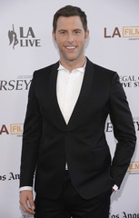 """Cast member Lomenda attends the premiere of """"Jersey Boys"""" during the Los Angeles Film Festival in Los Angeles"""