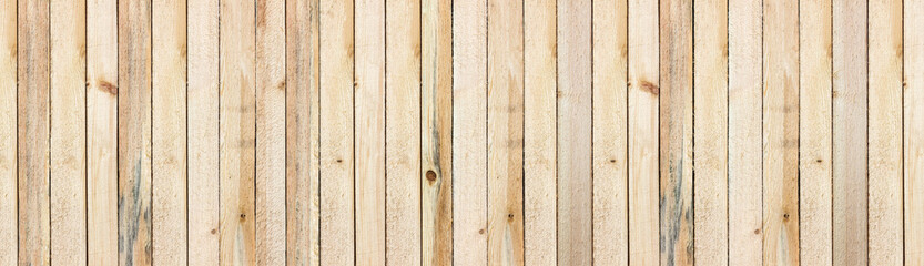 Panorama, wooden background