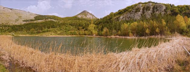 Lago di Piano Zucchi, foto panoramica
