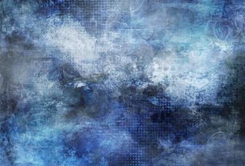 blue cyan grunge textures
