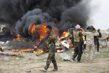 A Picture and Its Story: 'The Road to Tikrit'