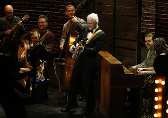 Steve Martin performs during the American Theatre Wing's 70th annual Tony Awards in New York