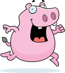 Hippo Running