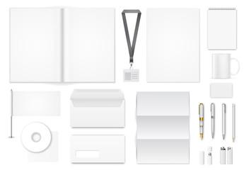 Blank Corporate Identity Set Mockup