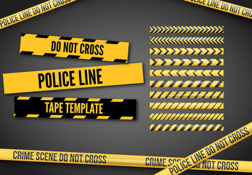 Caution Tape Template