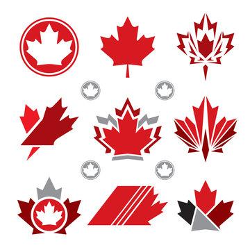 Maple Leaf Icons