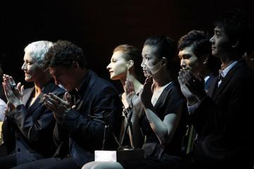 Prize winners and nominees of 'Benois de la Danse' attend 19th Benois de la Danse award ceremony at the Bolshoi Theatre in Moscow