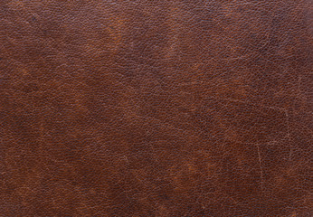 Vintage brown leather texture for background
