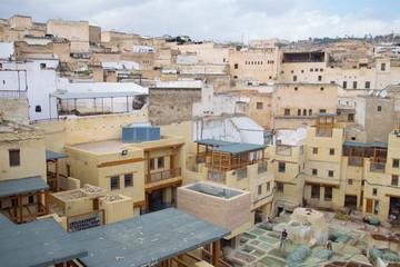 Fez cityscape, Morocco