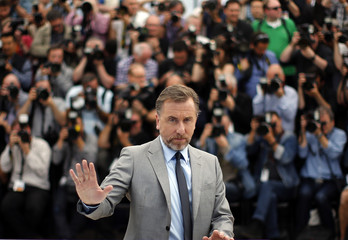 "Cast member Tim Roth poses during a photocall for the film ""Grace of Monaco"" out of competition before the opening of the 67th Cannes Film Festival in Cannes"