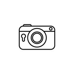 Vintage photographic camera icon vector illustration graphic design