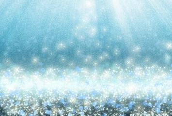 dotlight and glitter effect