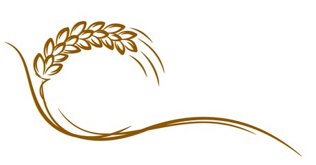 Logo of wheat.