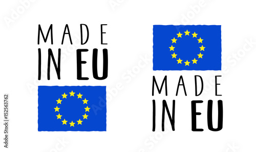 Nieuw Made in UE / Made in Europe
