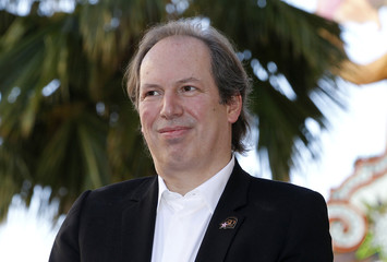 Academy Award winning composer Hans Zimmer attends ceremonies unveiling his star on the Hollywood Walk of Fame in Hollywood