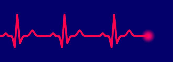 Line pulse - vector