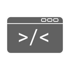 Custom Code Icon Vector