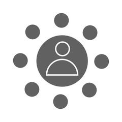 Affiliate Marketing icon Vector