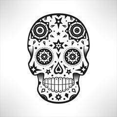 Crâne décoratif mexicain, jour des morts