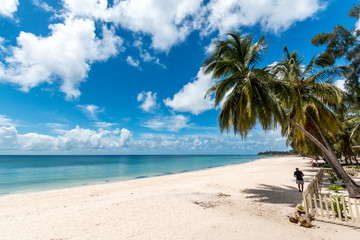 Pemba paradise beach, north Mozambique on the Indian ocean coast.