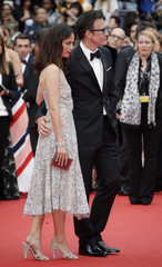 "Actress Berenice Bejo and director Michel Hazanavicius arrive for the screening of the film ""The BFG"" (Le Bon Gros Geant) out of competition at the 69th Cannes Film Festival in Cannes"