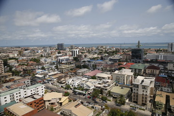 A view of the Victoria Island district in Lagos