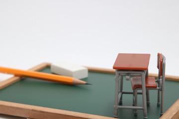 学習机 黒板 教育イメージ