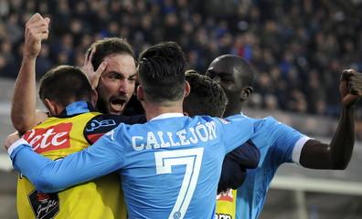 Atalanta v Napoli - Italian Serie A