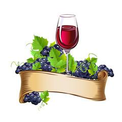 Wine glasses still life