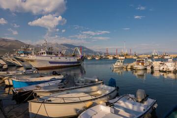 Gaeta LT, il porto commerciale