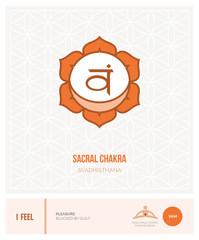 Sacral chakra Svadhisthana