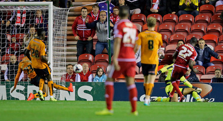 Middlesbrough v Wolverhampton Wanderers - Capital One Cup Third Round