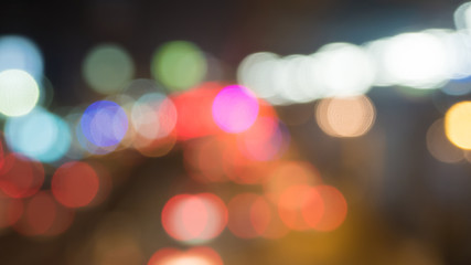 Bokeh colorful background