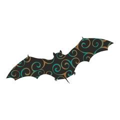 Bat mammal color silhouette animal